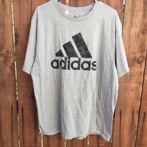Adidas Gray Camoflauge T Shirt XL Men